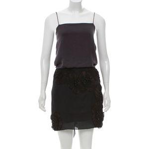 Lanvin Embellished Mini Dress